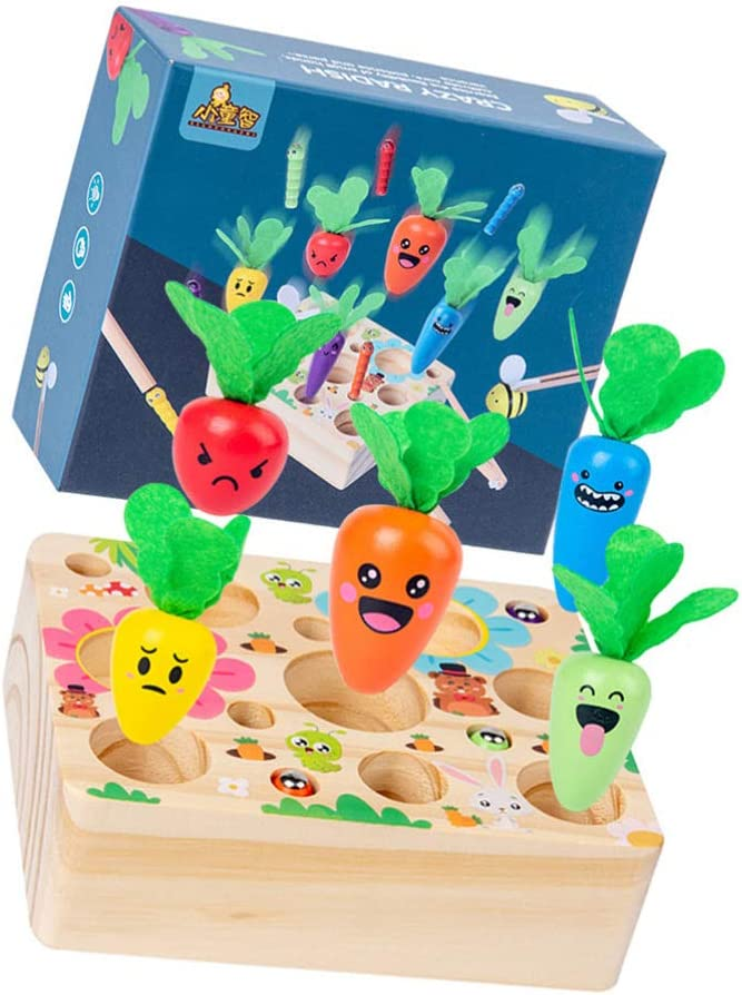 TOYANDONA 1 Set Magnetic Wooden Fishing Long Beach Mall Motor Skil Toy Game Fine Max 51% OFF