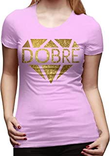 New Women's Lucas and Marcus Dobre YouTube Ladies Generic T Shirt Dye Dobre Brothers Shirts for Women Girls Clothes