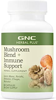 Sponsored Ad - GNC Herbal Plus Mushroom Blend Plus Immune Support