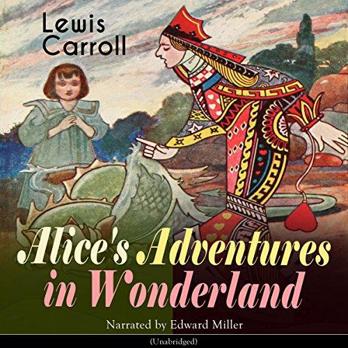 Alice's Adventures in Wonderland Audiobook By Lewis Carroll cover art