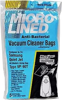 DVC Micro Lined Samsung VP-90 Quitejeft Paper Vacuum Bags 5 Pack