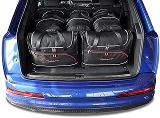 KJUST Dedizierte Kofferraumtaschen 5 STK Set kompatibel mit Audi Q7 II 2015