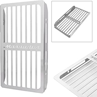 GZYF Stainless Steel Motorcycle Radiator Cover Protective Guard for 1997-2004 Suzuki Marauder 800 VZ800