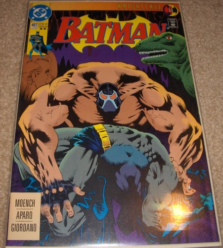 DC Comics Batman Knightfall 11 (Issue Number 497 July)