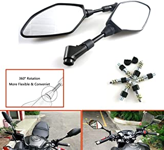 Motorcycle Mirror Rearview Mirror Side Fits For Yamaha MT-07 MT-09 FZ07 FZ09 2013 2014 2015 2016