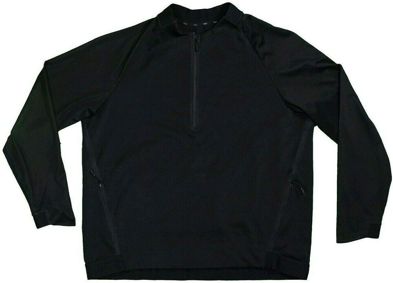 Nike Therma Sphere Mens Black Dri-Fit Bomber Jacket