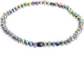 Colorful New Arrived Style Glass Crystal Beaded Bracelets Rope Distance Bracelet Femme Handmade Wrap Bracelet For women & Girls