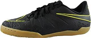 Nike Kids Hypervenomx Phelon II Indoor Black/Black/Volt Shoes