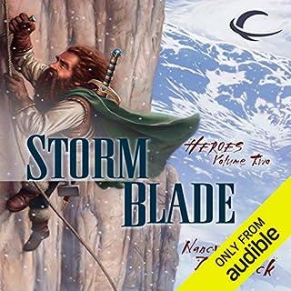 Stormblade audiobook cover art