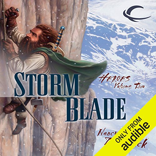 Stormblade audiobook cover art