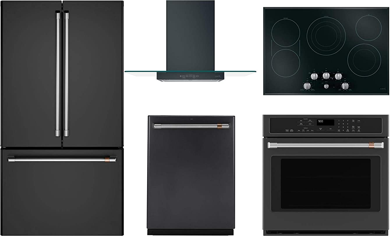 GE CAFE 5 Pcs Smart Kitchen Package with CWE23SP3MD1 36