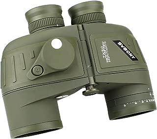 SVBONY SV27 双眼鏡 7×50 軍用 船舶用 防水 大口径 距離計 コンパス BAK4