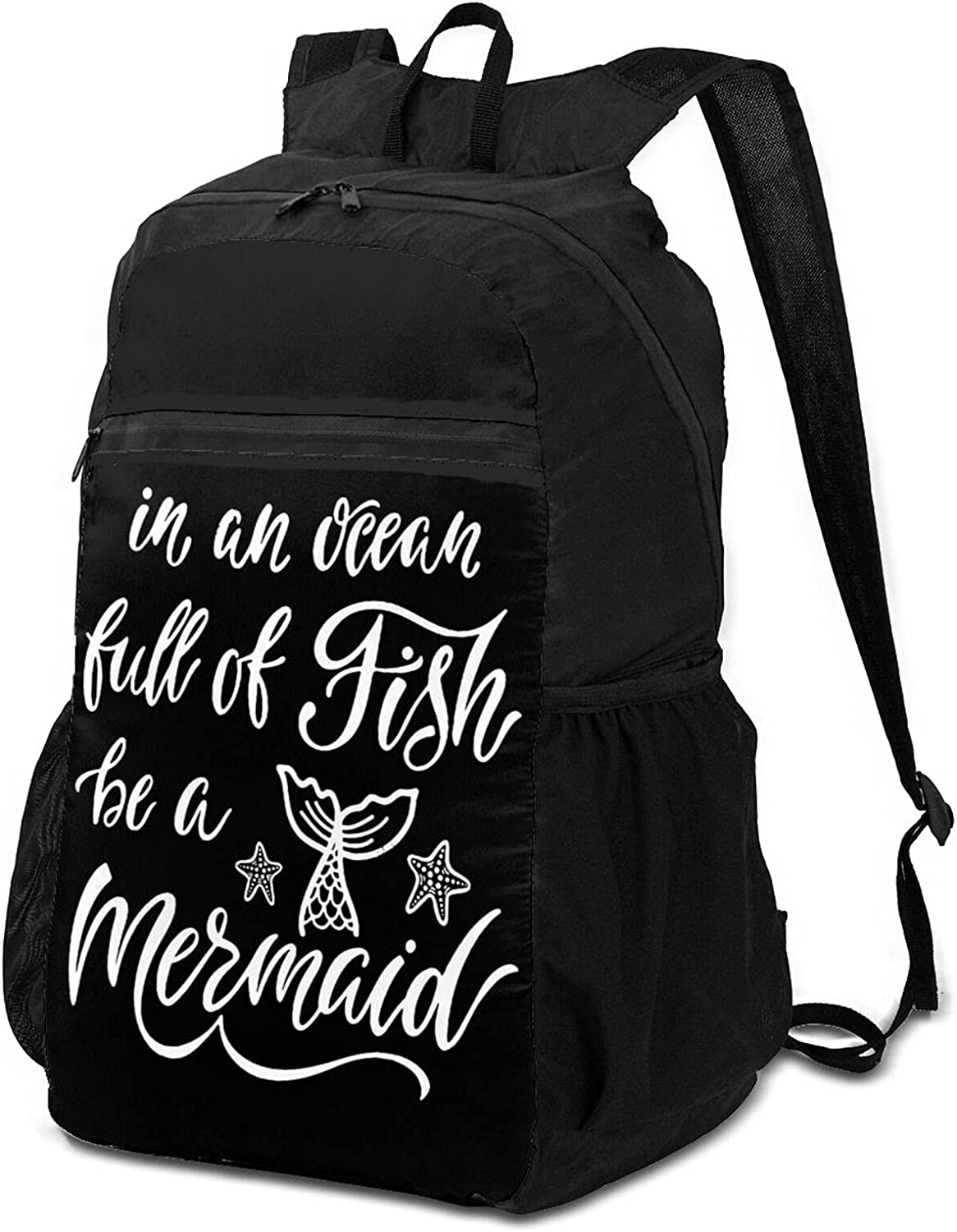 In An Max 72% OFF Ocean Fish Be A Lightweight Packable Mermaid Now free shipping for Backpack