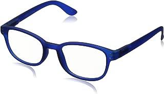 Corinne McCormack Women's Blue Color Spex 1015411 CMC Square Reading Glasses