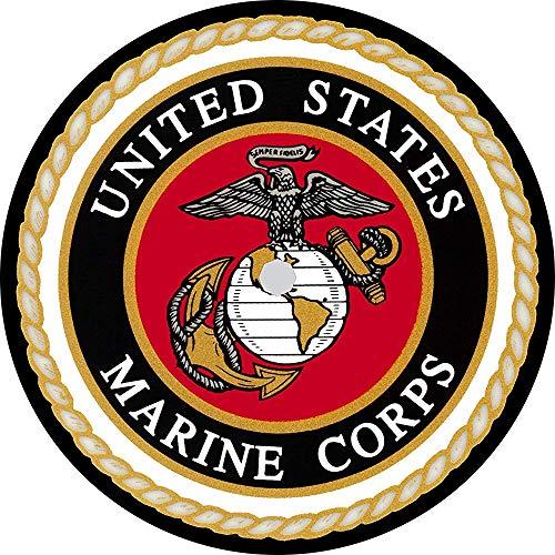 Night-Shop US Marines Logo Reserveradabdeckung für Wohnmobile, Scamp, Trailer