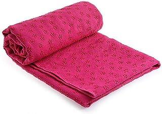 Yoga mat thick Thick Yoga Mats Women| 183 * 61cm Yoga Towel Non-slip Portable Travel Yoga Mat Towel Anti Skid Microfiber P...