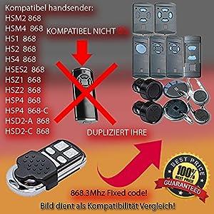 Hrmann-FIT2-Mando-a-distancia-para-puertas-HSP4-8683-Mhz