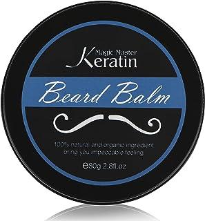 شمع تصفيف اللحية Beard Styling Wax for Men Magic Master Keratin Mustache Cream 80g
