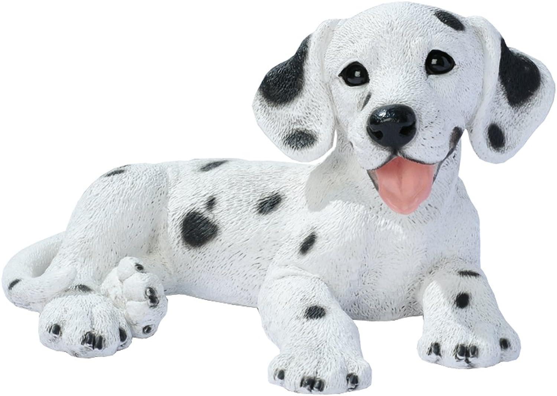 Design Toscano Dalmation Puppy Dog Statue, Multicolord