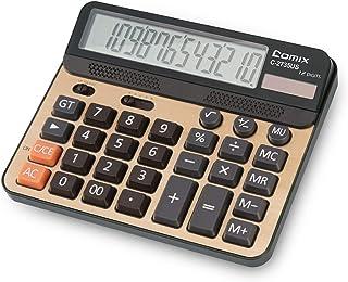 Calcolatrice da tavolo con funzione standard, con tasti di grandi dimensioni e calcolatore da tavolo a 12 cifre, con displ...