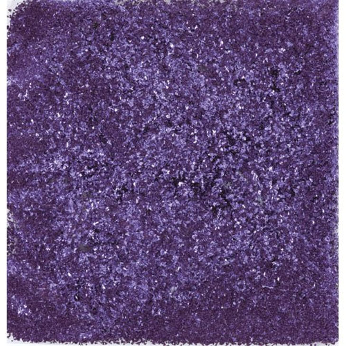 スクラブゆりかごまたはどちらかピカエース ネイル用パウダー シャインフレーク #711 江戸紫 0.3g