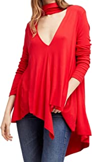 Best free people cut out neck long sleeve top Reviews