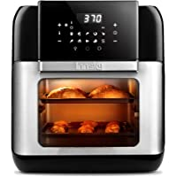 Innsky 10.6QT 1500W 10-in-1 Electric Air Fryer Oven with LED Digital Touchscreen
