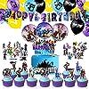 CANPA ビデオゲーム 誕生日 風船 Happy Birthday バナー バースデー 飾り バルーン パーティー デコレーション 飾り付け お祝い 男女の子 サプライズ 豪華で大容量 誕生日装飾品