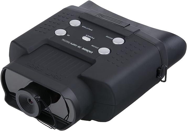 Dorr Zb-100PV Digital Jumelles de Vision de Nuit avec Photo et vidéo Noir