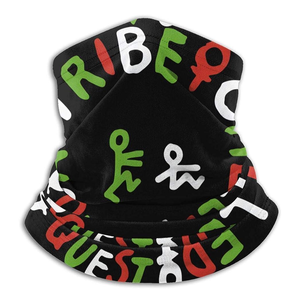 ショートカットシネマ親指A Tribe Called Quest Logo ネックガード フェイスカバー UVカット バンダナ 冷感 夏 紫外線対策 吸汗速乾 日よけ サイクリングカバー 男女兼用