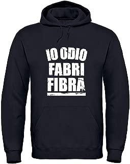 Fabri Fibra Felpe 4 Cappuccio Girocollo Hip Hop Rap Musica idea regalo