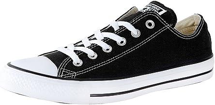 aire prefacio Cena  Amazon.com: Black and White Converse