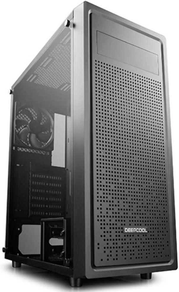 Deepcool E Shield Gehäuse Middle Tower Computer Pc Computer Zubehör