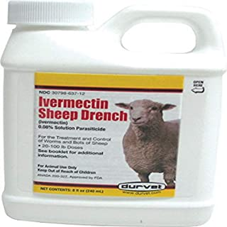 Ivermectin Sheep Drench 8 oz. (Packaging May Vary)