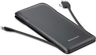 Portable Charger Built in USB C Cable, Metecsmart Power Bank 10000mAh, Slim 5V Backup External Battery Type C Portable Bat... photo