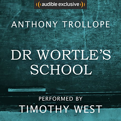 Dr Wortle's School audiobook cover art