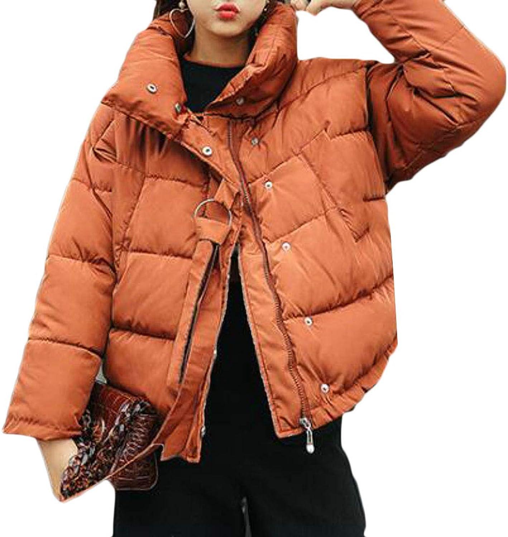 Lutratocro Women Plus Size Winter Outwear Warm Parkas Hooded Puffer Down Coats