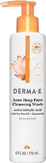 DERMA E Very Clear Acne Cleanser with Salicylic Acid & Anti-Blemish Complex 6 oz