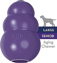 KONG Senior KONG Dog Toy, Purple