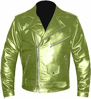 Ryan Gosling Real Genuine Leather Motorbike Bomber Biker Style Vintage Jacket