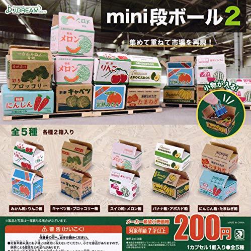 mini段ボール2 [全5種セット(フルコンプ)] ガチャガチャ カプセルトイ