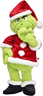 Build A Bear Workshop The Grinch Santa Suit Stuffed Animal Gift Set, 19 Inches