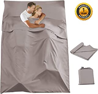 Sleeping Bag Liner Travel Camping Sheet Lightweight Breathable Hotel Compact Sack