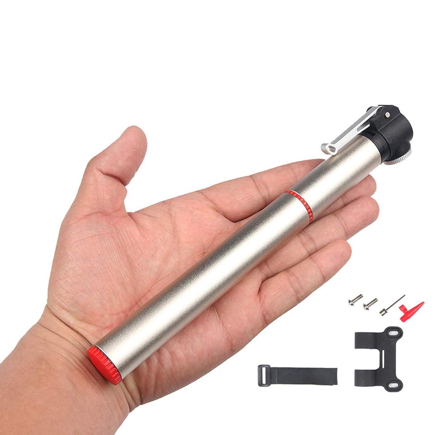 達成可能肉屋取り消すUSUNO ポータブルポケットポンプ 自転車ポンプ ボールポンプ エアポンプ 仏式と米式バルブに対応 高圧120PSI対応 アルミ合金