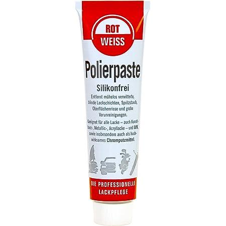 Rotweiss Polierpaste 100ml Silikonfrei Auto