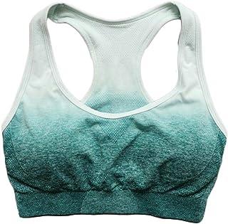 XFKLJ Sports Bra Yoga Pants Seamless Women's Yoga Set Gym Clothing Sports Bra+Leggings Workout 2 Pcs Sports Suit Women Ene...