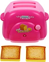 TOYMYTOY 1 Set Dollhouse Miniature Toaster Mini Bread Machine Pretend Play Kitchen Appliances Accessories Novelty Gifts fo...