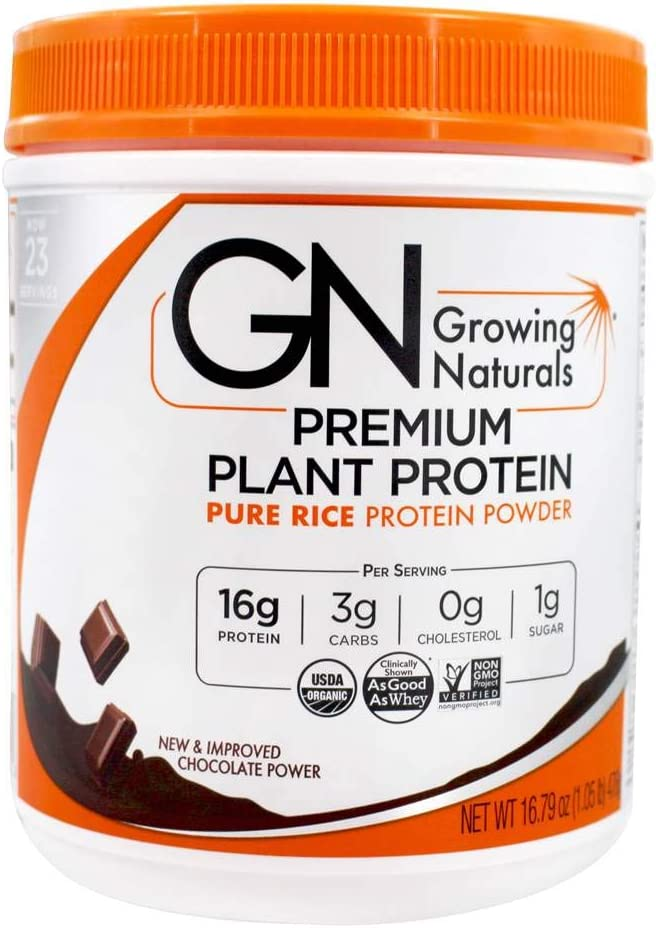Dealing full price reduction Organic Premium Plant Based Protein Rice Powder - Pure OFFicial mail order