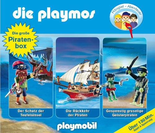Die Playmos - Die große Piraten Box (Original Playmobil Hörspiele)