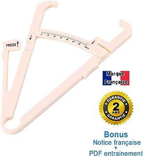 CZ Store-Adipómetro-✮✮GARANTÍA DE POR VIDA✮✮-Pinza para medir la grasa corporal y el porcentaje de grasa